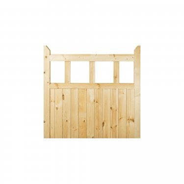External Redwood Unfinished Gate (EGTE)