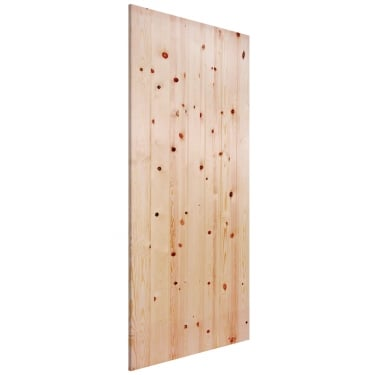 External Redwood Unfinished Ledged & Braced Door (RLB)