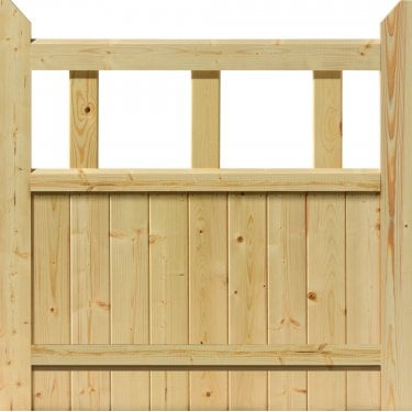 External Softwood Unfinished 9P Boarded Gate (PGA)