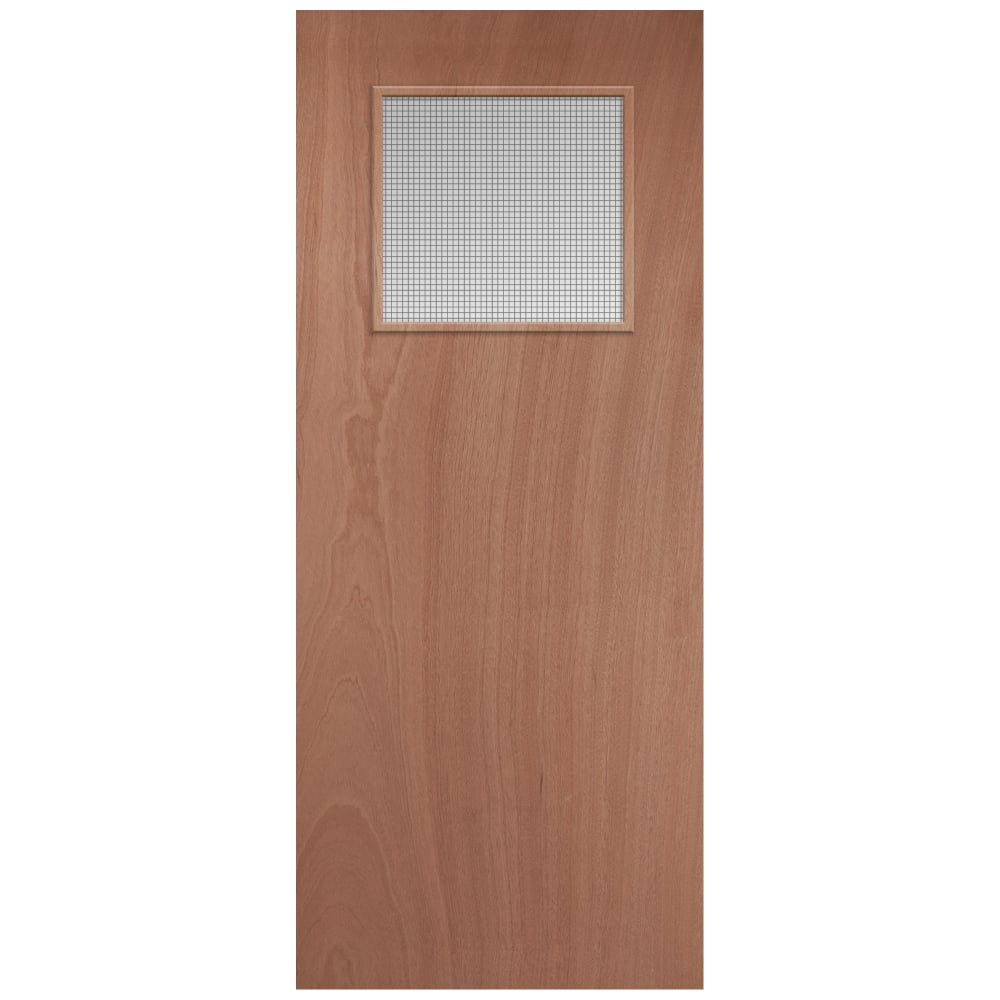 Jeld Wen External Softwood Unfinished Gg01 Glazed Door Leader Doors