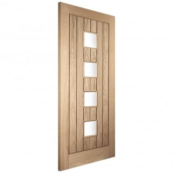 Jeld-Wen External White Oak Knightsbridge Chester Door