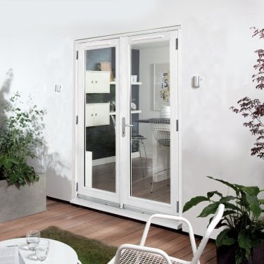 External White Paint Grade Darwin French Patio Door (HDFD)