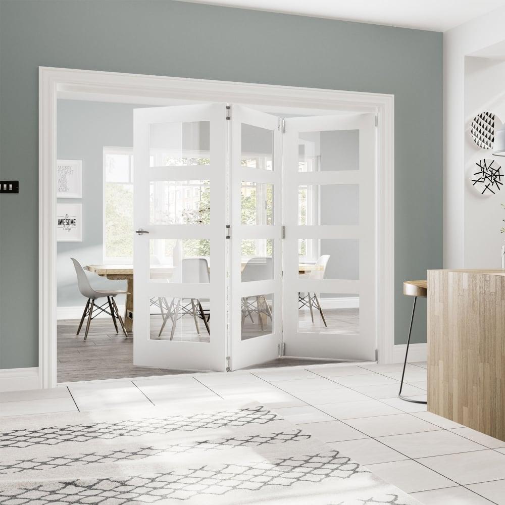 deanta fold white primed room divider frame leader doors fold white primed room divider frame jeuxipadfo