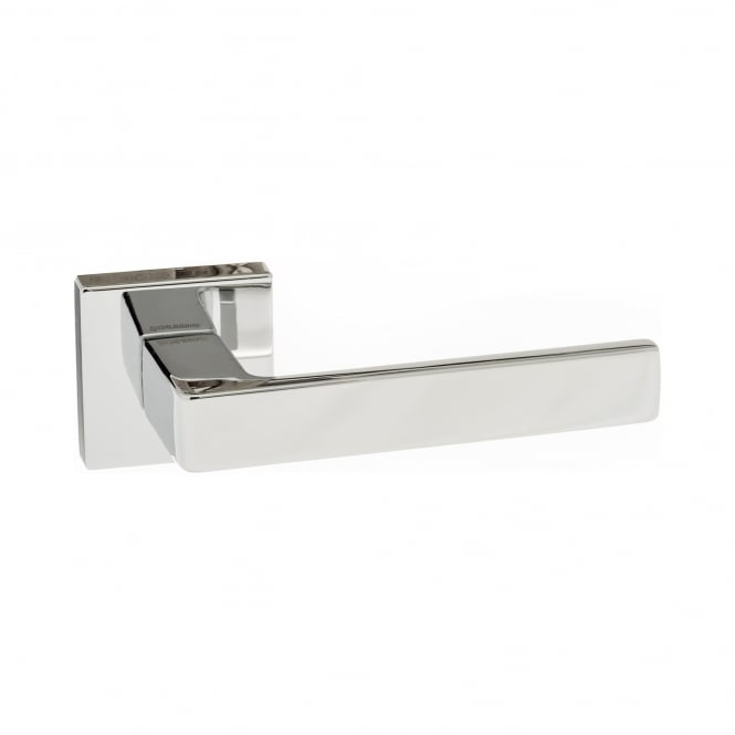 Atlantic Handles Forme Minimal Asti Designer Lever On Square Rose - Polished Chrome (FMS254PC)