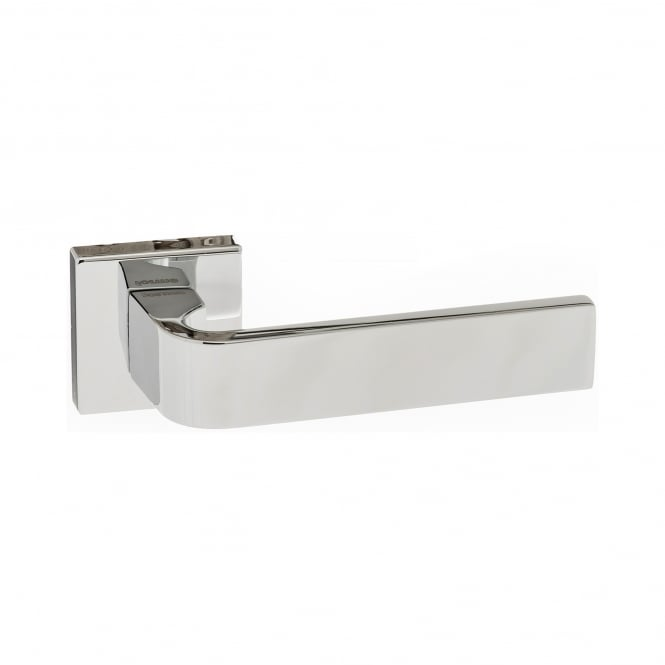Atlantic Handles Forme Minimal Monza Designer Lever On Square Rose - Polished Chrome (FMS413PC)