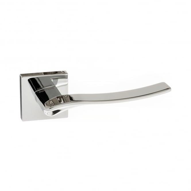 Atlantic Handles Forme Minimal Olimpia Designer Lever On Square Rose - Polished Chrome (FMS280PC)