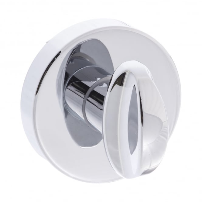 Atlantic Handles Forme Minimal WC Turn and Release On Round Rose - Polished Chrome (FMRWCPC)