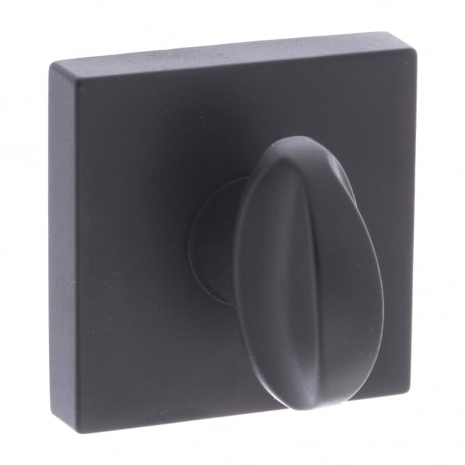 Atlantic Handles Forme Minimal WC Turn and Release On Square Rose - Matt Black (FMSWCMB)