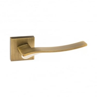 Forme Olimpia Designer Lever On Minimal Square Rose, Yester Bronze (FMS280YB)