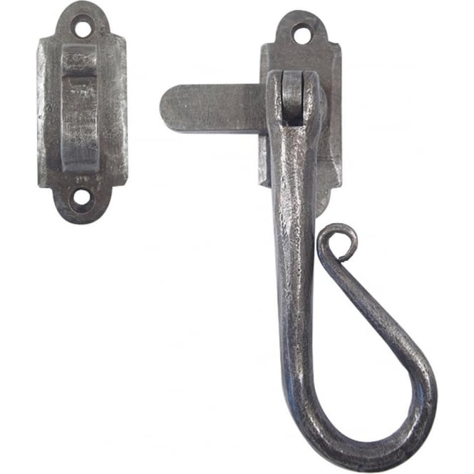 Frelan Hardware Antique Pewter Handforged Casement Fastener (HF19M)