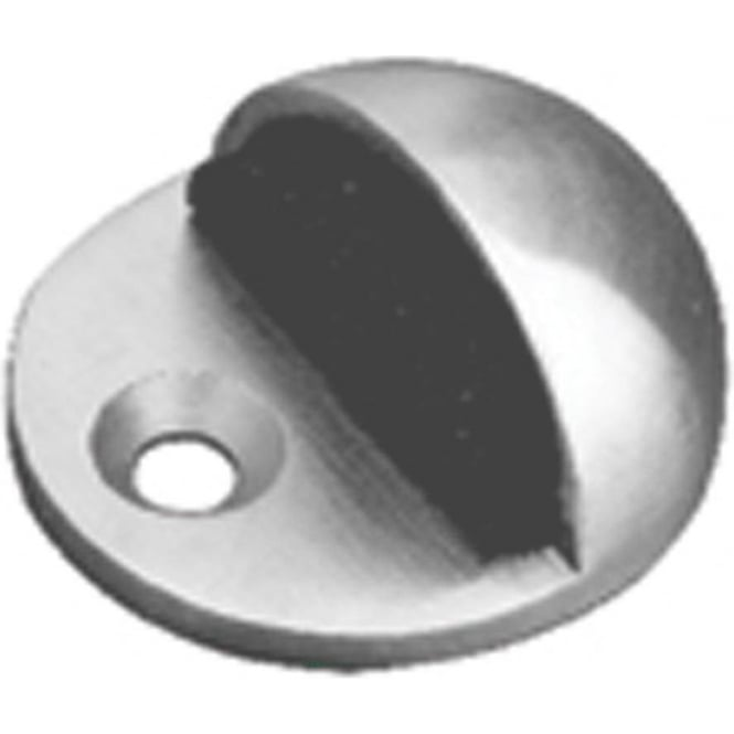 JPS08 Polished Stainless Steel Oval Door Stop