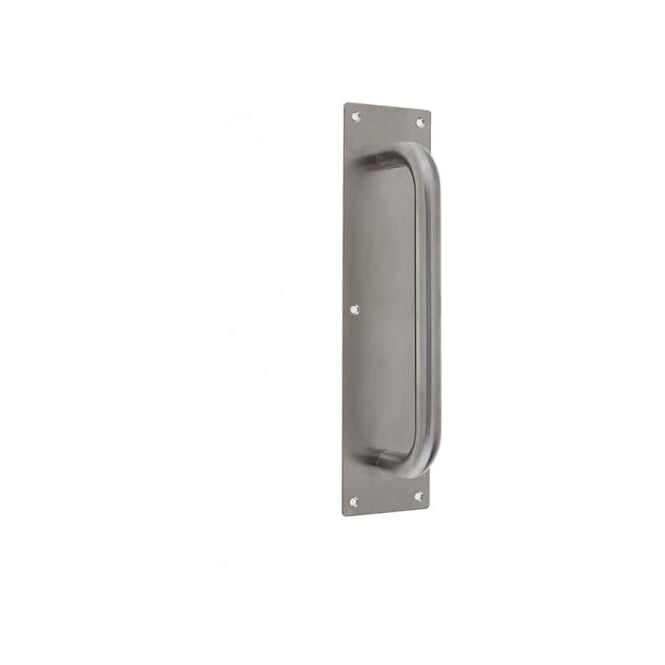 JSS160 Satin Stainless Steel Pull Handle On Plate
