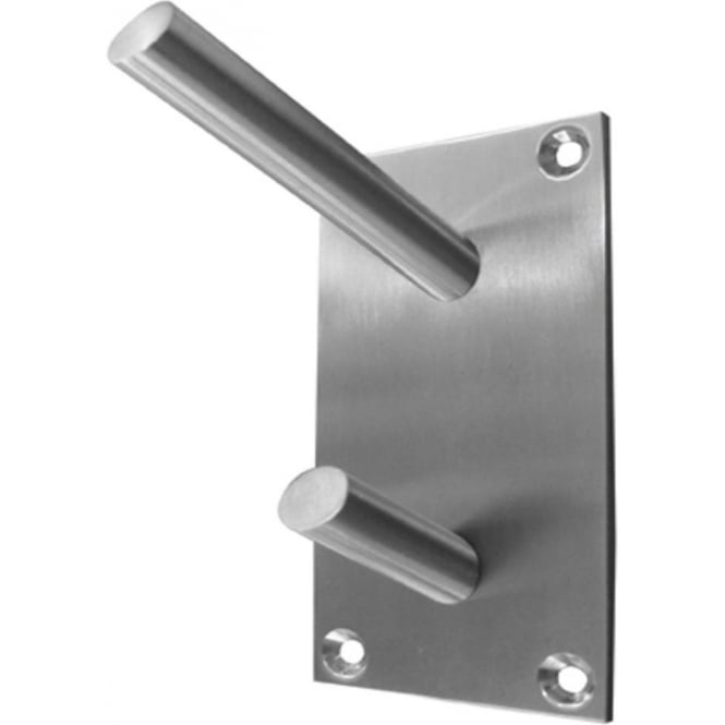 Frelan Hardware JSS901B Satin Stainless Steel Hat & Coat Hook