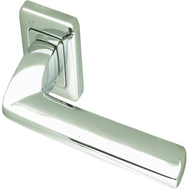 Frelan Hardware Mariani Polished Chrome Zenith Lever on Rose Handle (JV5002PC)