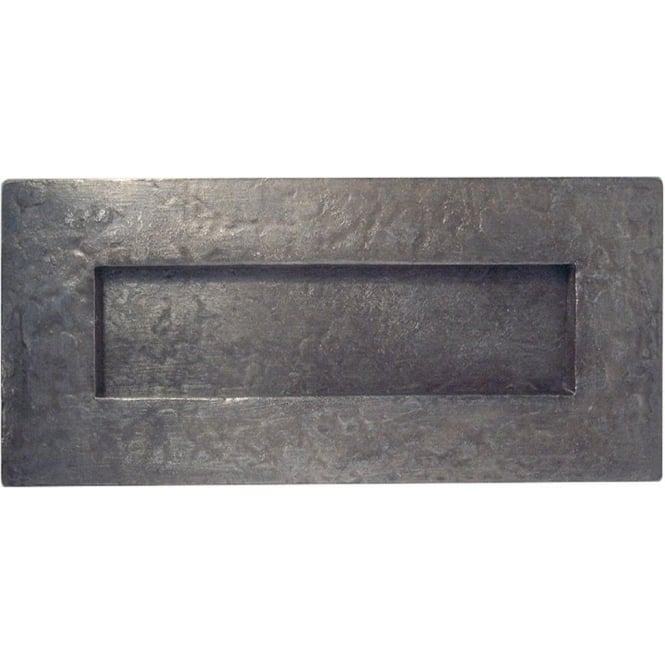 PEW12 Antique Pewter External Letterplate