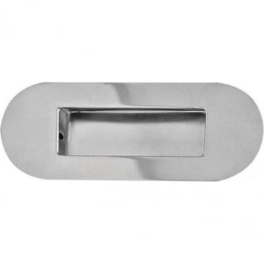 Polished Stainless Steel Flush Pull Handle (JPS429B)