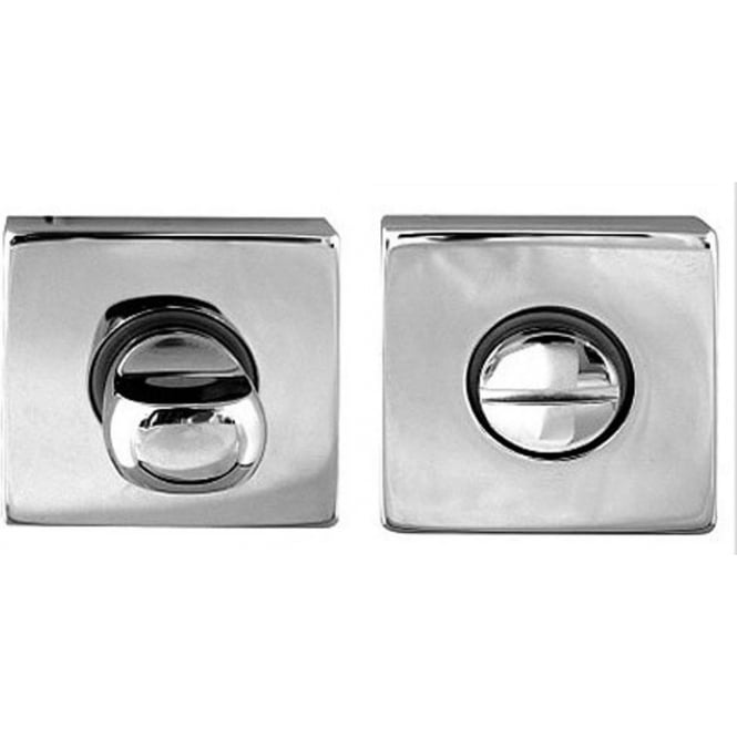Frelan Hardware Rombo Polished Chrome WC Turn And Release (JV416PC)