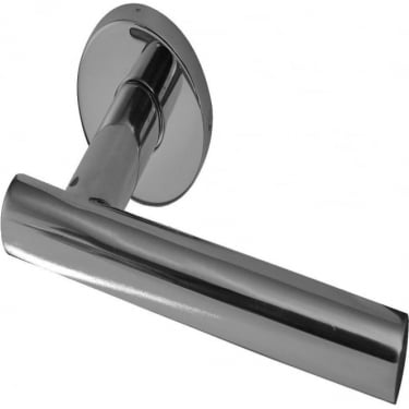 Satin Stainless Steel Atlanta Lever on Rose Handle (JSS412SSS)
