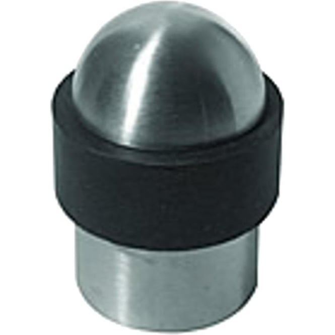 Frelan Hardware Satin Stainless Steel Dome Top Door Stop (JSS09)