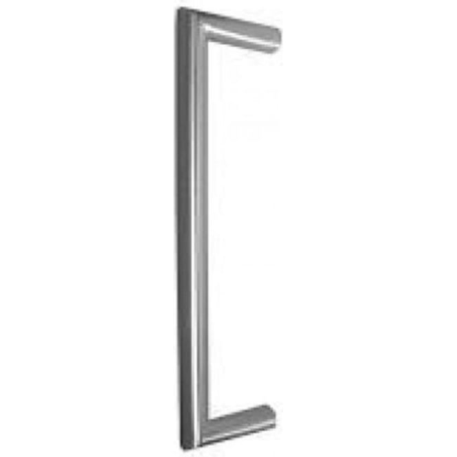 Frelan Hardware Satin Stainless Steel Mitred Pull Handle (JSS419)