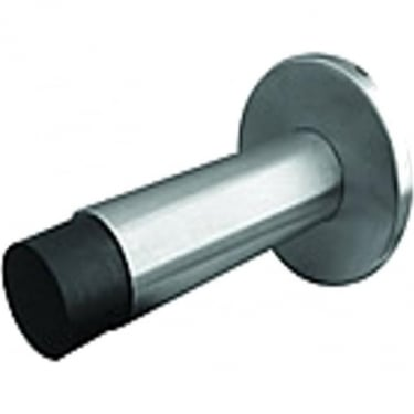 Satin Stainless Steel Projecting Cylinder Door Stop (JSS07)