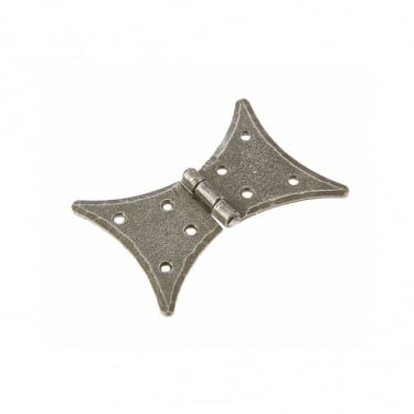 Valley Forge 64mm (2½'') Butterfly Cabinet Hinge Pewter Patina (VF32)