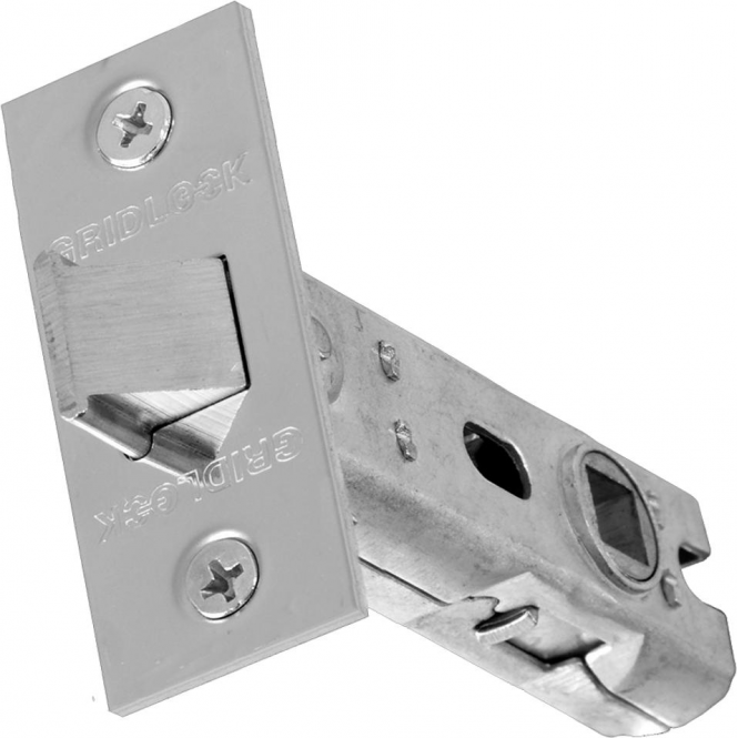 Intelligent Hardware 75mm Polished Stainless Steel Tubular Mortice Latch