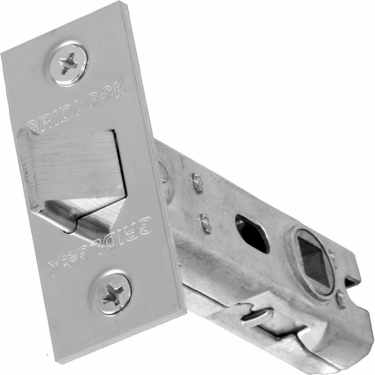 75mm Polished Stainless Steel Tubular Mortice Latch
