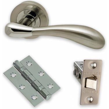The Developer Hornet CP/SN Fire Rated Door Handle Pack (DEV.HOR.09.CP/SNFIREDOOR)