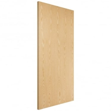 Internal Ash Fully Finished Crown Cut Flush FD30 Fire Door (ASHOVF)