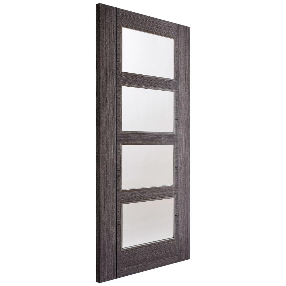 lpd internal ash grey pre finished vancouver glazed door. Black Bedroom Furniture Sets. Home Design Ideas
