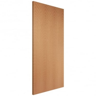 Internal Beech Fully Finished Quarter Cut Flush FD30 Fire Door (BCHOVF)
