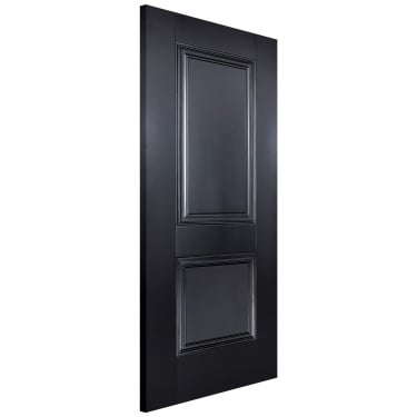 Internal Black Primed Arnhem FD30 Fire Door (ARNBLAFC)