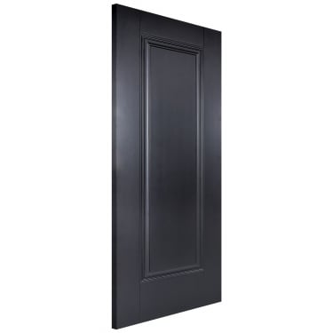 Internal Black Primed Eindhoven FD30 Fire Door (EINBLAFC)