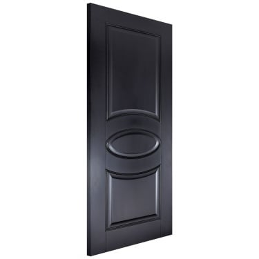Internal Black Primed Versailles FD30 Fire Door (VERBLAFC)