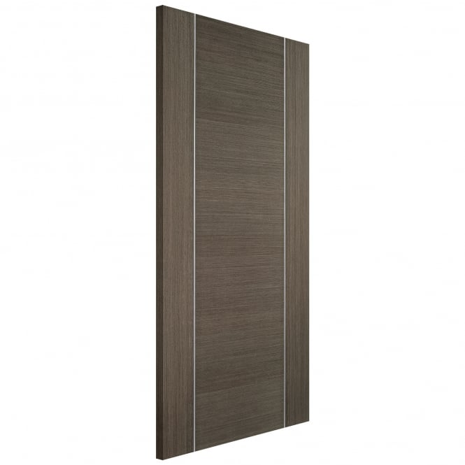 LPD Doors Internal Chocolate Grey Fully Finished Alcaraz FD30 Fire Door