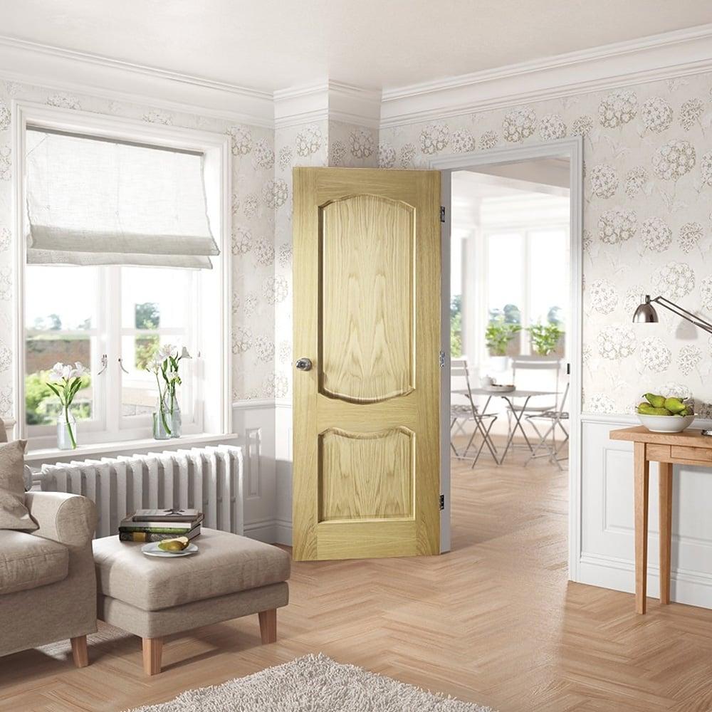 Xl Joinery Internal Clear Pine Unfinished Louis Door Leader Doors