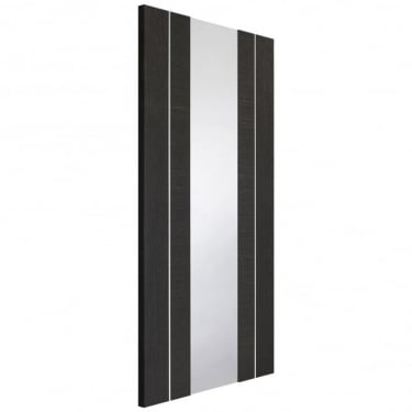 Internal Dark Grey Fully Finished Forli 1L Door with Clear Glass (PFGDGFOR)