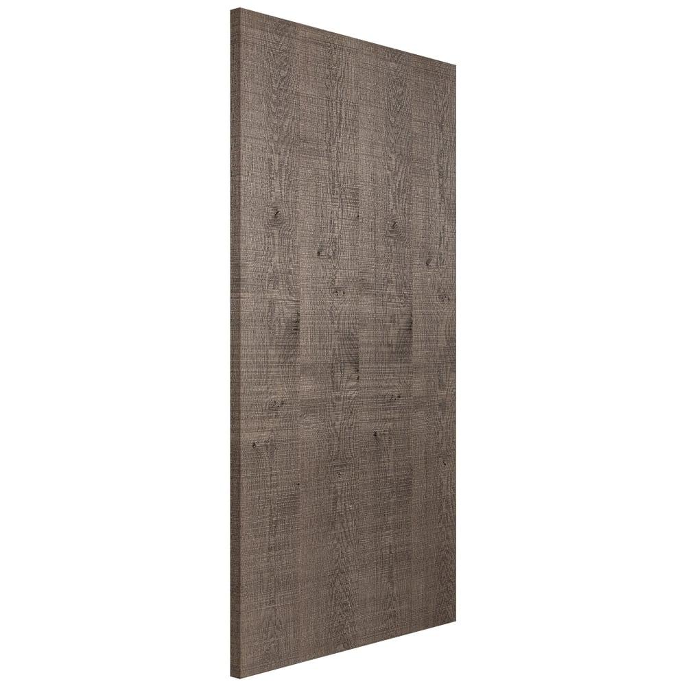 Dark Oak Kitchen Doors: Jeld-Wen Internal Dark Oak Pre-Finished Textured Door