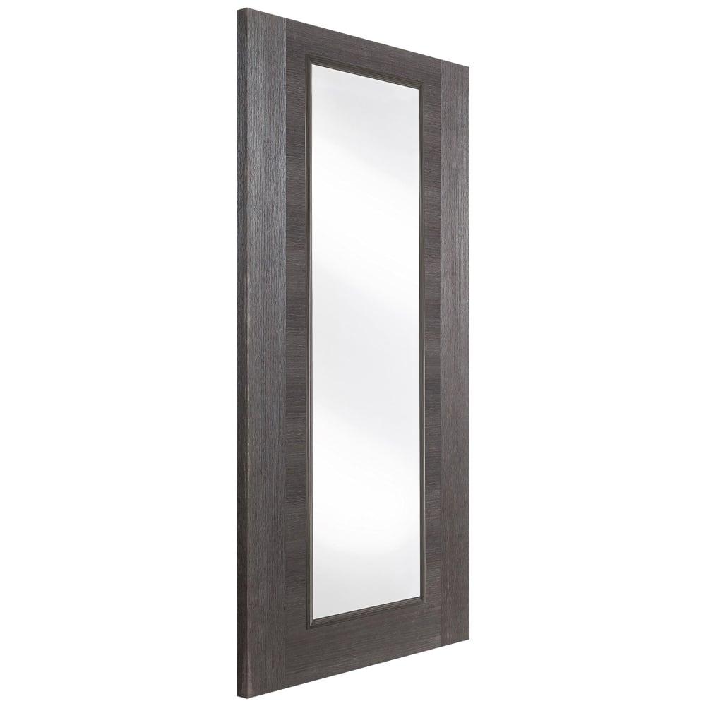 jeld wen internal grey pre finished fusion glazed door. Black Bedroom Furniture Sets. Home Design Ideas