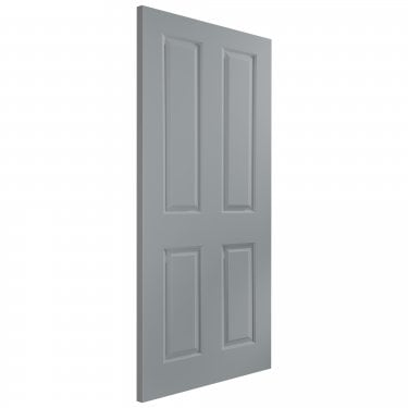 Internal Gun Metal Grey Fully Finished True Colour Atherton Smooth Door (ATH+GUN)