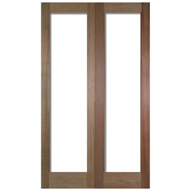 Internal Hardwood Pattern 20 Pair Doors