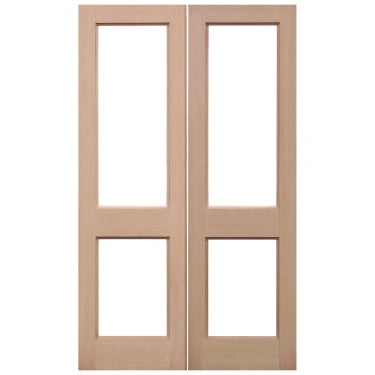Internal Hemlock 2XGG Pair Doors