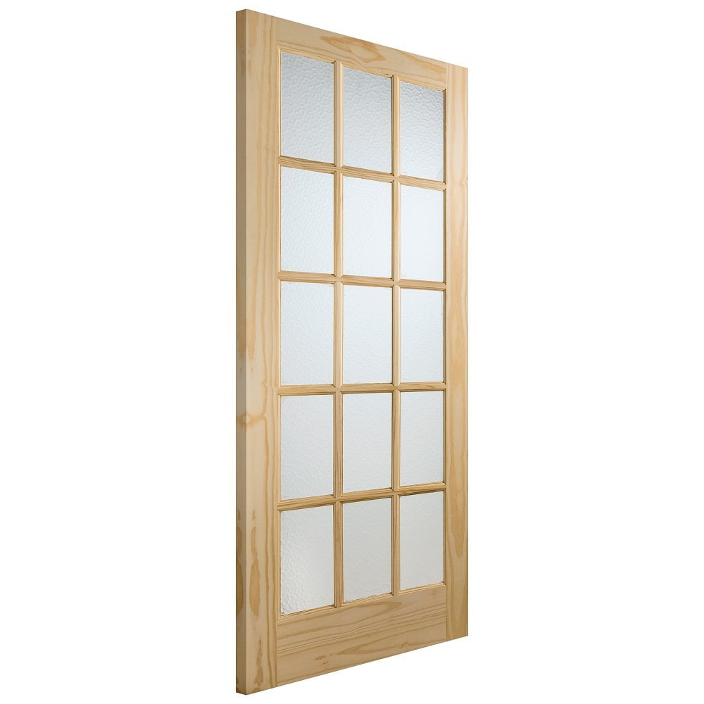 Knotty Pine Cabinet Doors: XL Joinery Internal Knotty Pine Unfinished SA77 Glazed