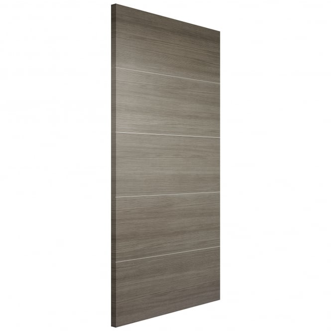 LPD Doors Internal Laminate Light Grey Santandor FD30 Fire Door (D4H)