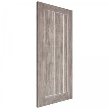 Internal Light Grey Fully Finished Laminate Mexicano Door (LAMLGRMEX)