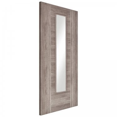 Internal Light Grey Fully Finished Laminate Ottawa 1L Door with Clear Glass (LAMLGROTTGL)