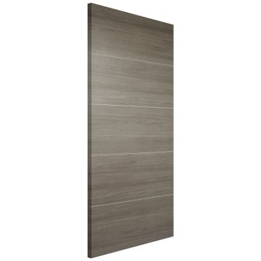 Internal Light Grey Fully Finished Laminate Santandor FD30 Fire Door (LAMLGRSANFC)