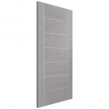 Internal Light Grey Fully Finished Palermo FD30 Fire Door (PFLGPAL-FD)