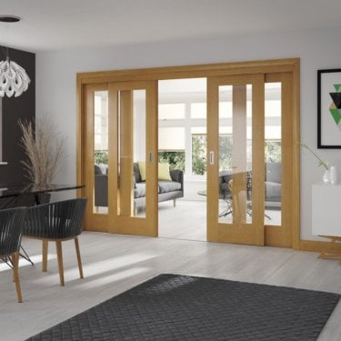Internal Oak Easi-Slide Frame